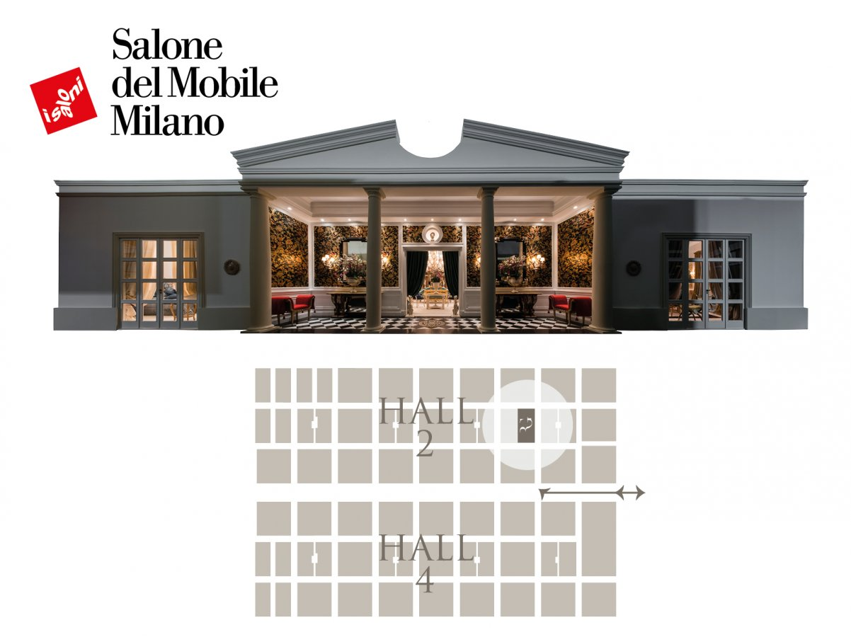 A new space for Roberto Giovannini's creations at Salone del Mobile 2019
