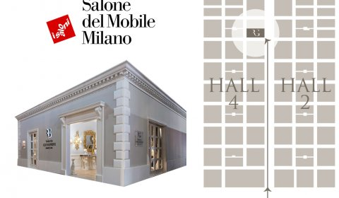 A new space for Roberto Giovannini's creations at Salone del Mobile 2017