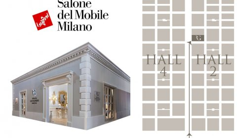 A new space for Roberto Giovannini's creations at Salone del Mobile 2018