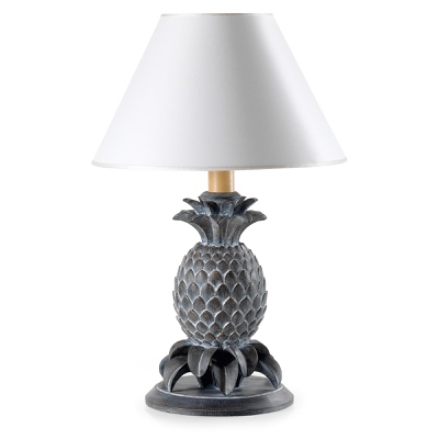 Lamp base with pineapple