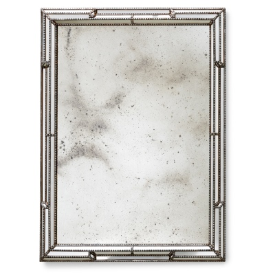 Mirror frame with mirrors