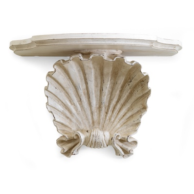 Wall bracket with shell
