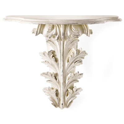 Acanthus leaves wall bracket