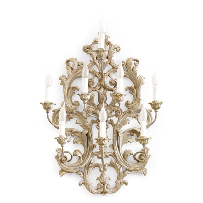 8 lights sconce