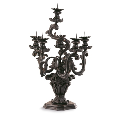 6 lights candelabra