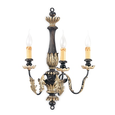 3 lights sconce
