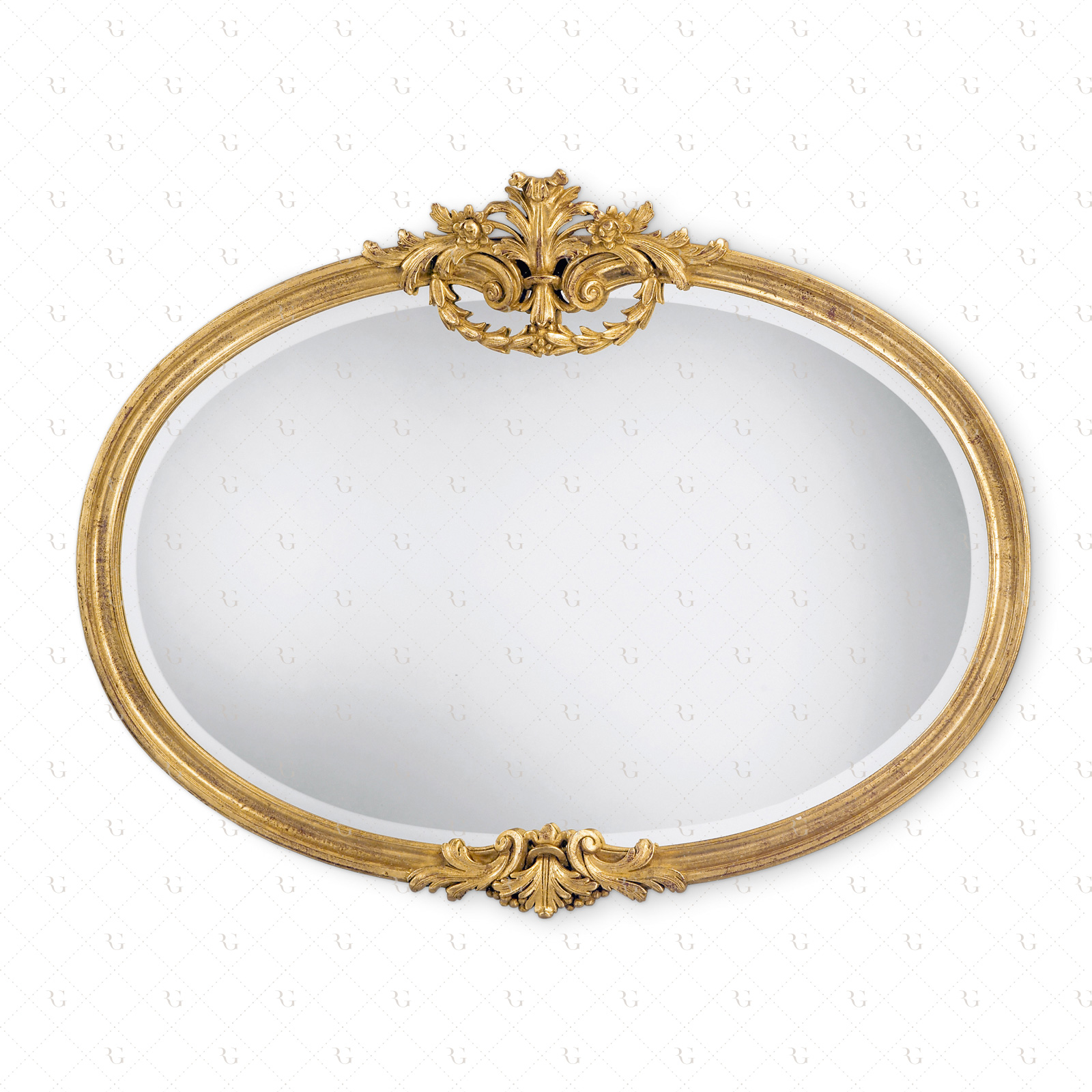 oval mirror frame. Horizontal Oval Mirror Frame